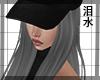 !Q! Snapback Hair Grey