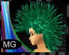 (MG)Rave Green Hair