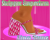 Pinky Dio Chunky Heel