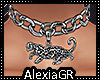 [A] Cougar Choker Silver