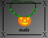 .X. Pumpkin Necklace M