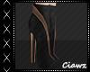☾ Black Short Boots