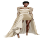 TEF KELLY TAN GOWN