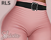 S. Pink Pants & Belt RLS