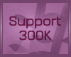 Sticker support  300K