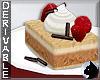 !Coffee Cake Round Plate