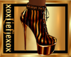 [L] Copper stripe Boots