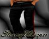 Black pants w/red stripe
