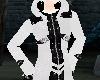 white gothy jacket