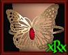 Butterfly Bracelet Red