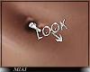 !M! Look belly piercing