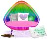 Tara's Rainbow Chair