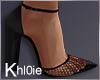 K net black heels