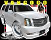 VG White SUV DUB spinner