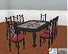 Gothic / Vamp dining set