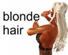 Blonde long hair