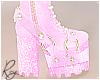 Pink Glitter Heels
