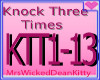 KNOCK THREE TIMES
