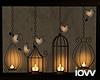 "Iv""Bird Cage Frame"