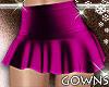 Mini Skirt Mauve M