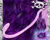 Pink Leopard Tail M/F