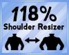 Shoulder Scaler 118%