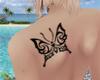 Butterfly Large Tattoo