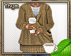 Tan Wrap Sweater V1