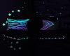 xLx Neon Chair wth poses