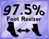 Foot Scaler 97.5%