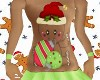 Kid Gingerbread Outfit