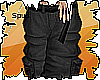 Spud/ Black Baggy Cargo