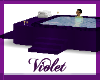 ( V) purple hot tub