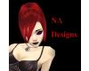 (NA) Red Liye Hair