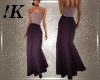 !K! Sparkle Gown Purple