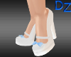 Chunky Pumps with Blue