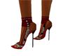 Red & Black Heels
