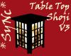 *Sync Table Top Shoji V3