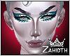 Drag Mesh Head Turquoise