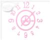 [SC] Pink Wall Clock