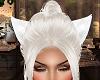 LC White Kitty Ears