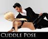 laying cuddle pose