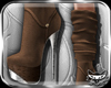 ! Suede Boots Brn