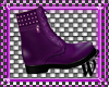 PurpleDoc Martens Boots