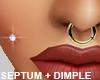 Septum - Dimple Piercing