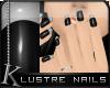 K| Lustre Glass: Silver