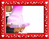(Eli) pink gloves