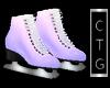 CTG PURPLE ICE SKATES