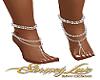 Diamond Feet Anklet