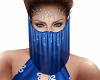Ava Harem Veil Blue